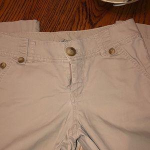 Khaki Bootleg pants